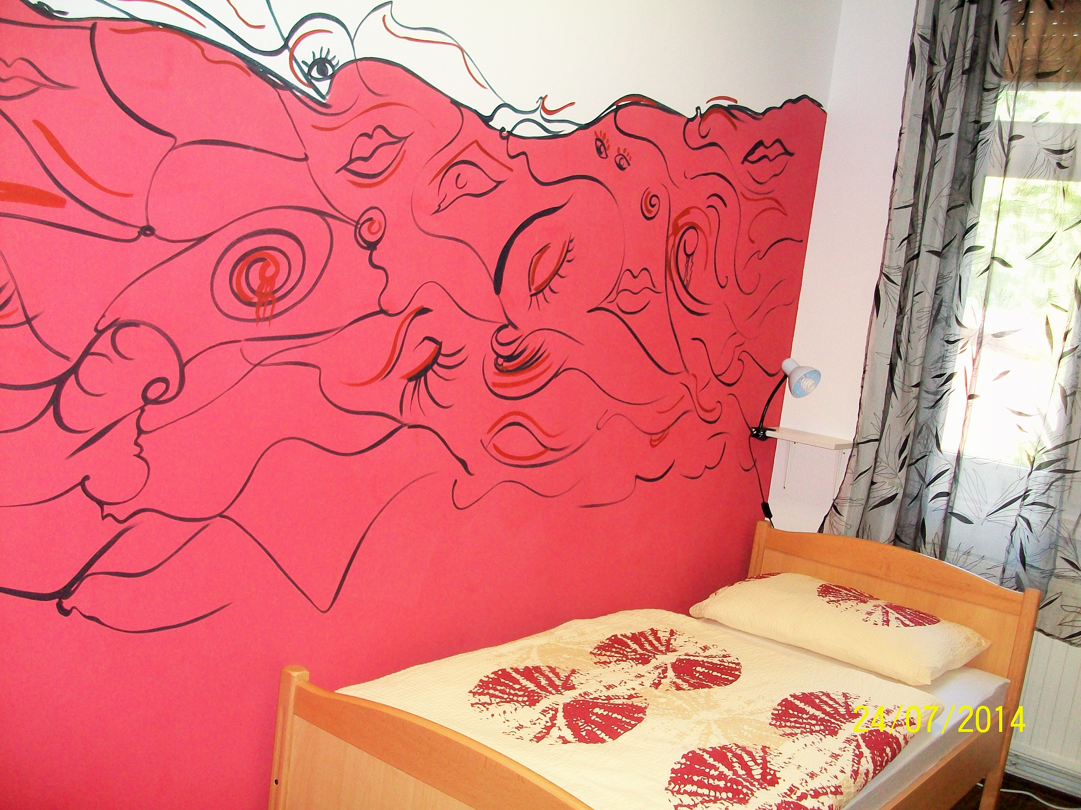 Double room in the hostel Zagreb