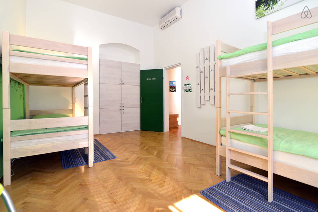 Shared room in the hostel Zagreb